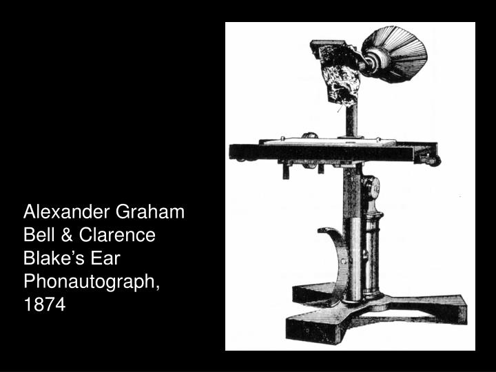 Alexander Graham Bell & Clarence Blake's Ear