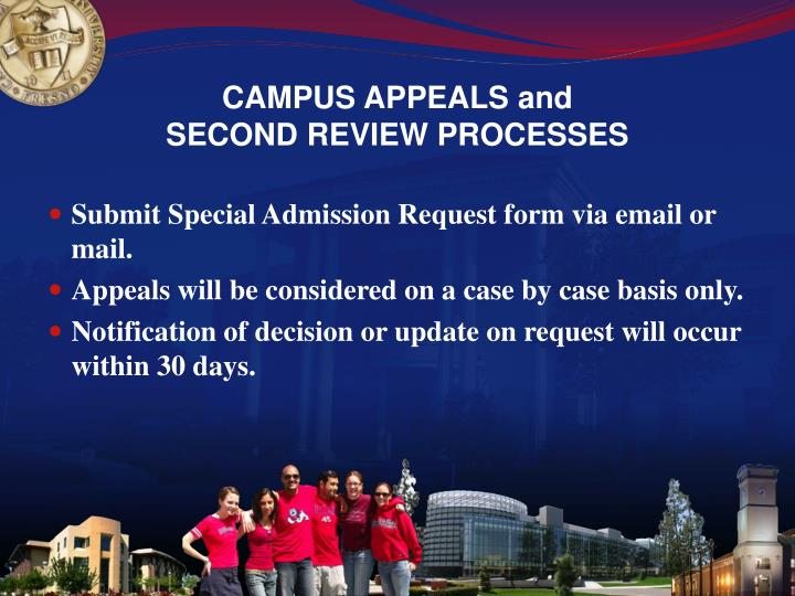 CAMPUS APPEALS and