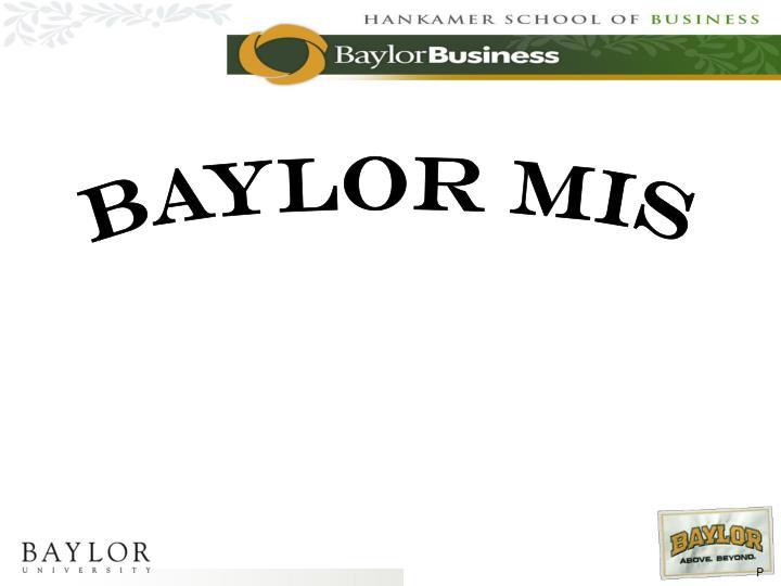 Baylor MIS