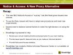 notice access a new proxy alternative15