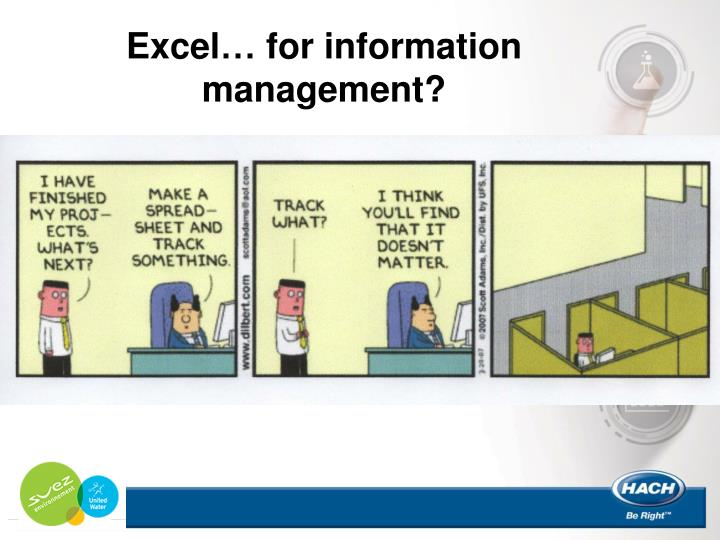 Excel… for information management?