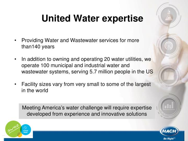 United Water expertise