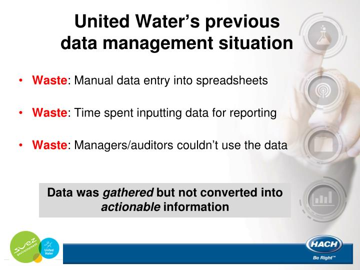 United Water's previous