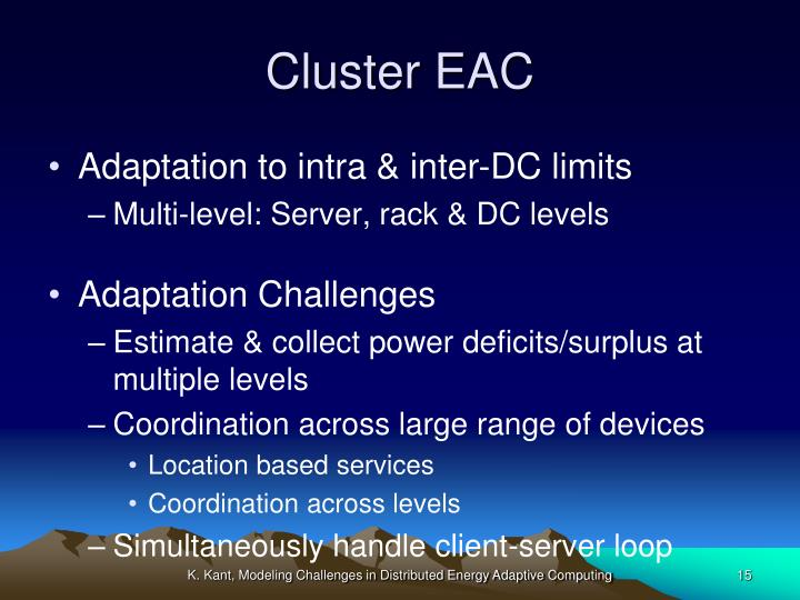 Cluster EAC
