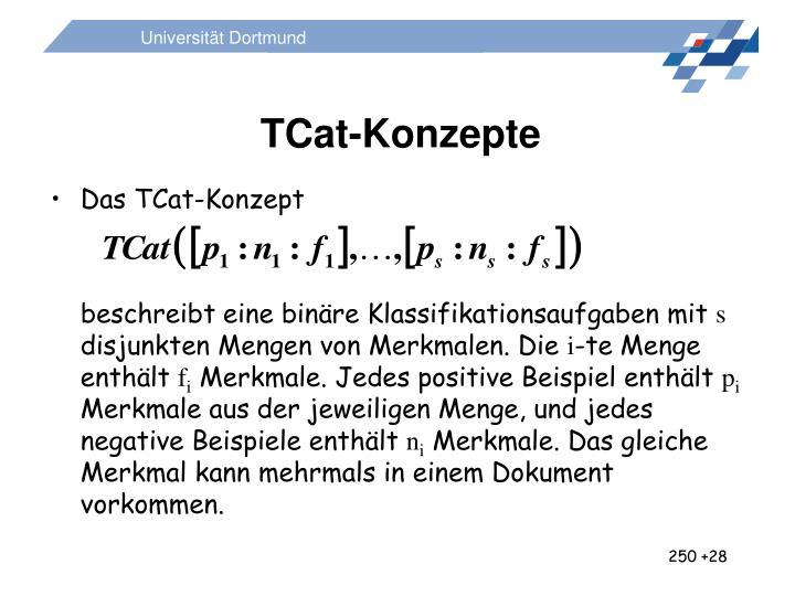TCat-Konzepte