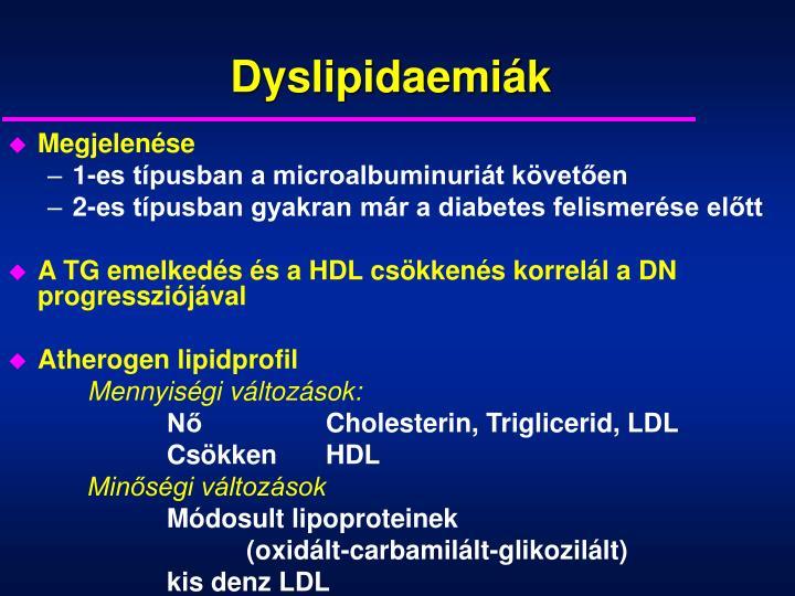 Dyslipidaemiák