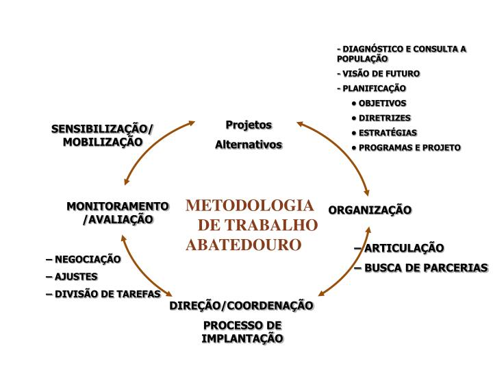 - DIAGNÓSTICO E CONSULTA A   POPULAÇÃO