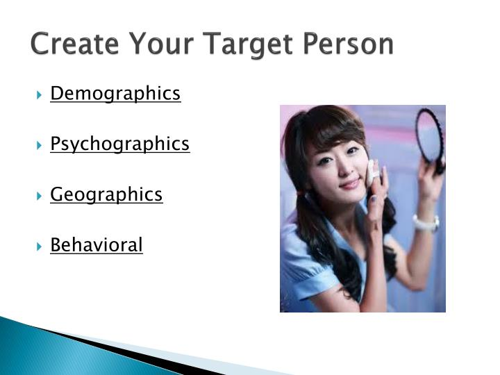 Create Your Target Person