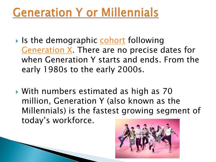 Generation Y or