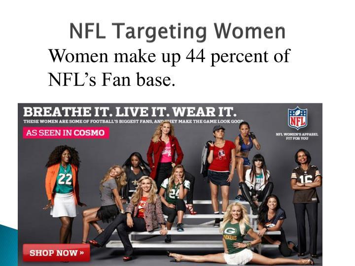 NFL Targeting Women