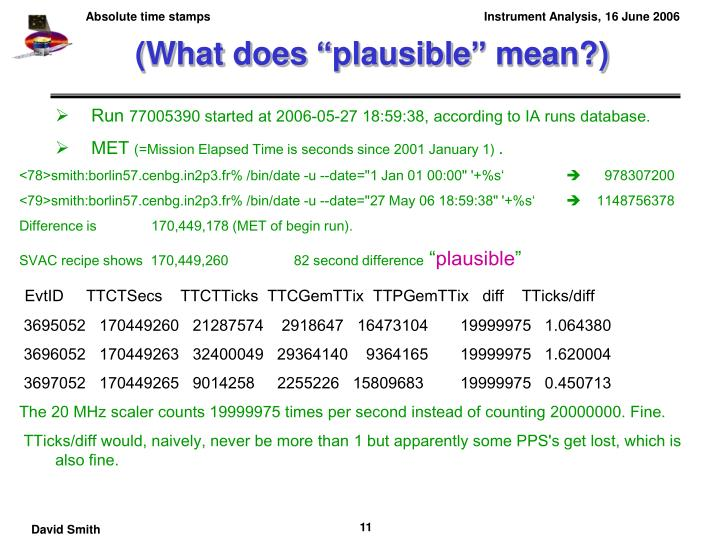 "(What does ""plausible"" mean?)"