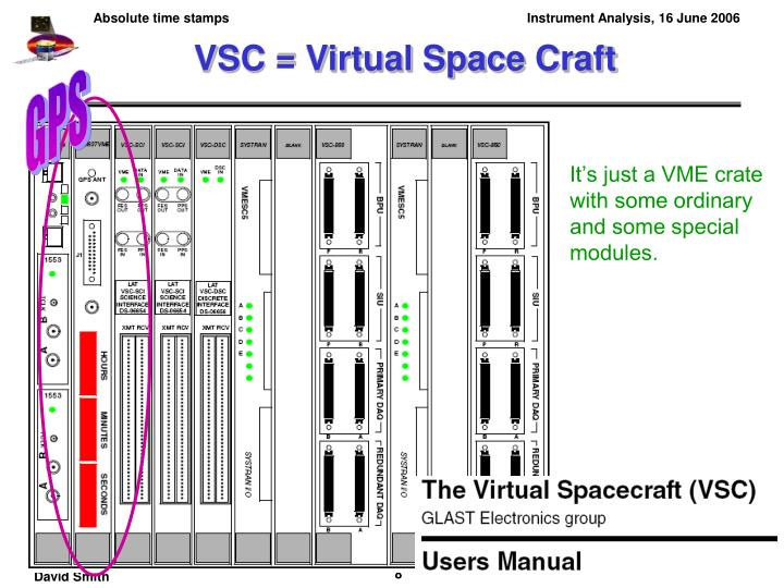 VSC = Virtual Space Craft