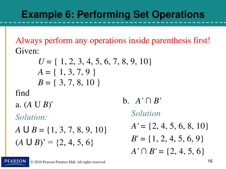 Always perform any operations inside parenthesis first!