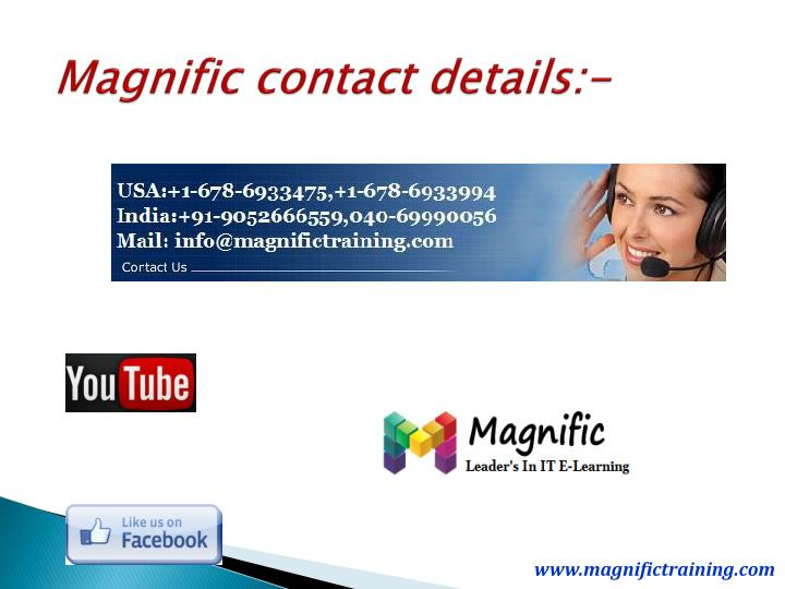 Magnific contact details:-