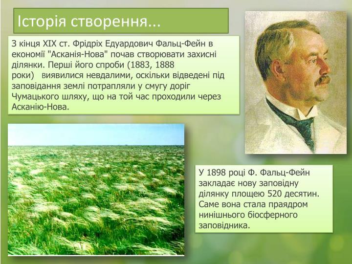 Історія створення...