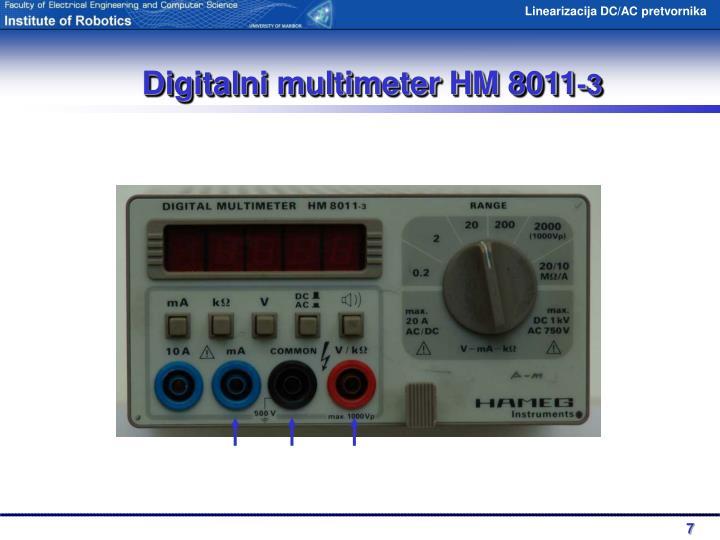 Digitalni multimeter HM 8011