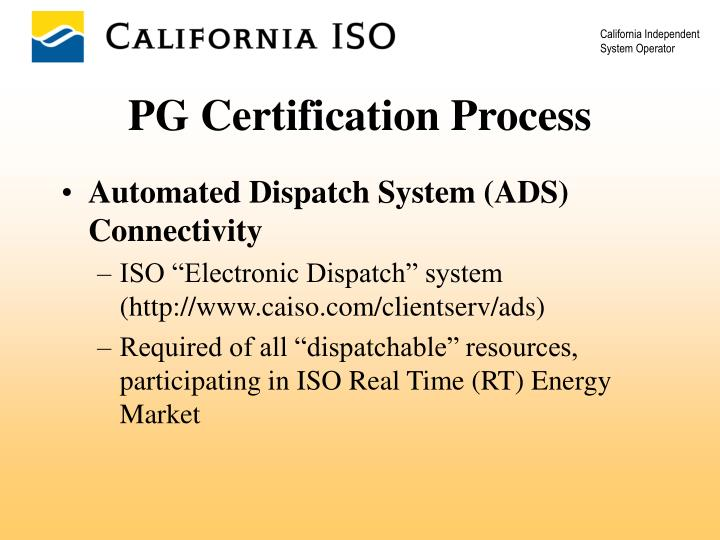 Automated Dispatch System (ADS) Connectivity