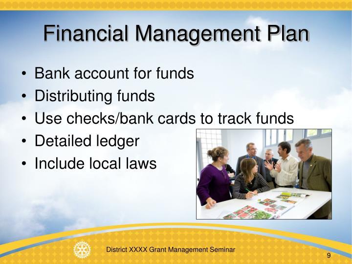Financial Management Plan