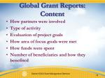 global grant reports content1
