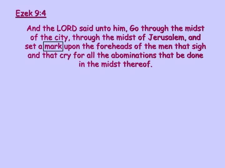 Ezek 9:4