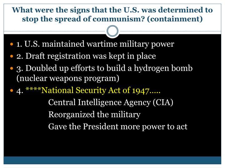 PPT - The Cold War PowerPoint Presentation - ID:7101989
