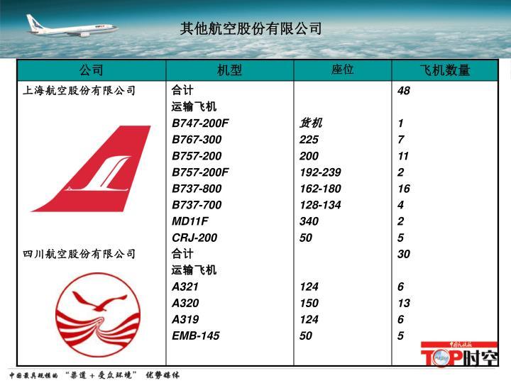 其他航空股份有限公司