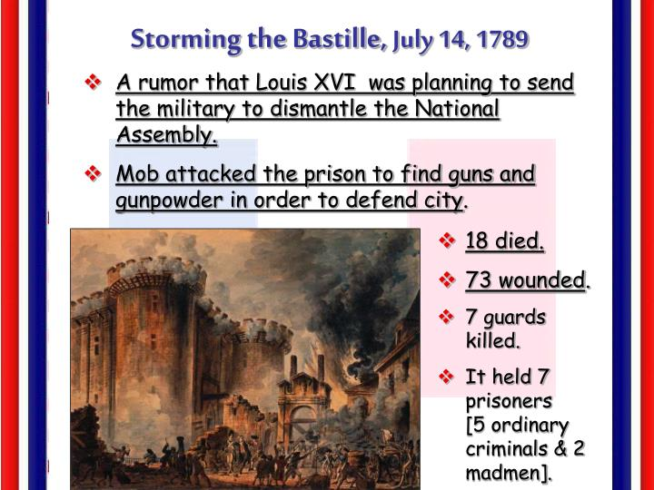 Storming the Bastille,