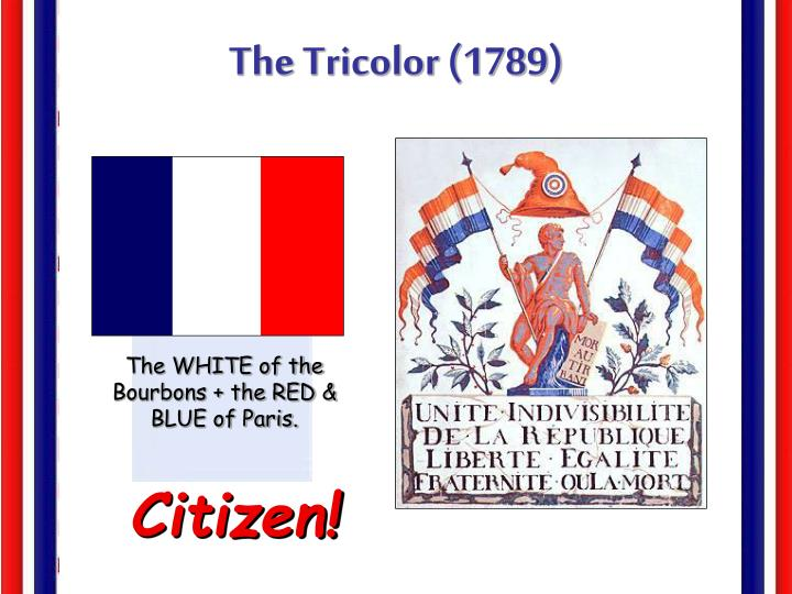The Tricolor (1789)