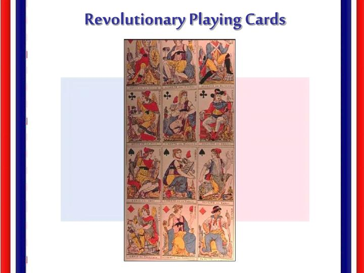 Revolutionary Playing Cards