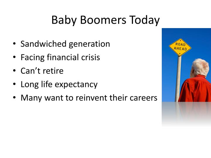 Baby Boomers Today