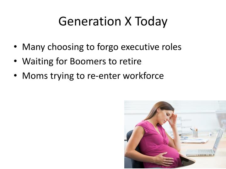 Generation X Today