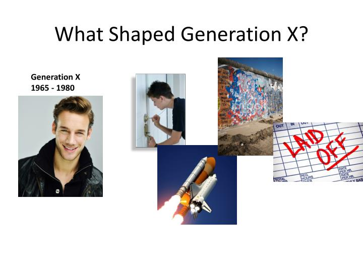 What Shaped Generation X?