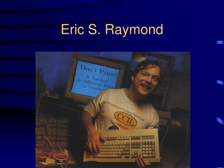 Eric S. Raymond
