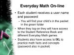 everyday math on line