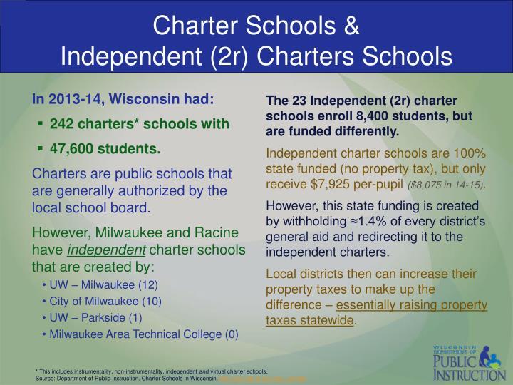 Charter Schools &
