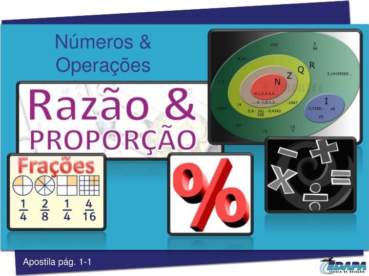 Números & Operações