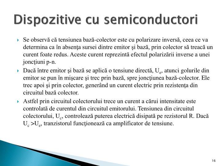 Dispozitive cu semiconductori