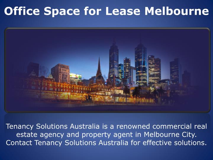 Office space for lease melbourne