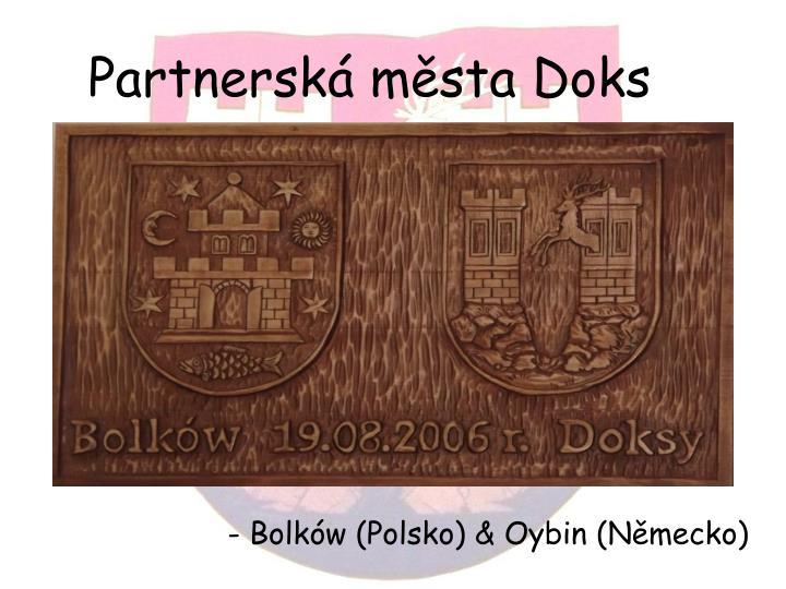 Partnerská města Doks