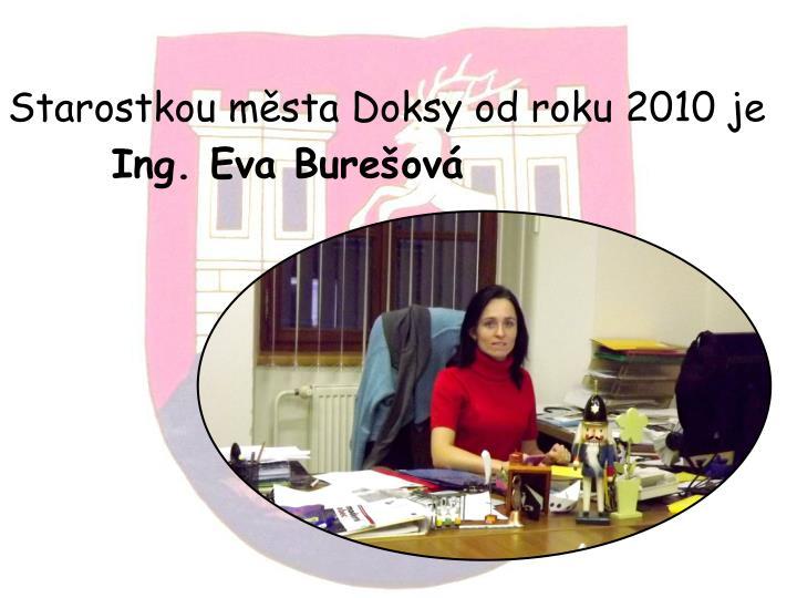 Ing. Eva Burešová