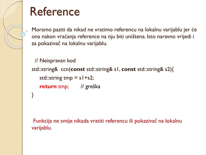 Reference
