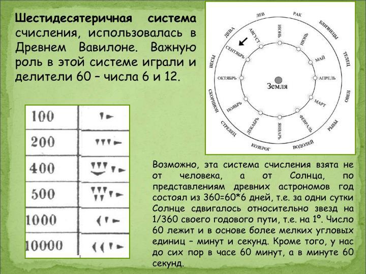 Шестидесятеричная система