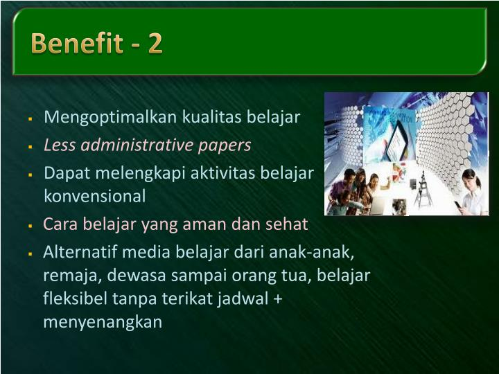 Benefit - 2