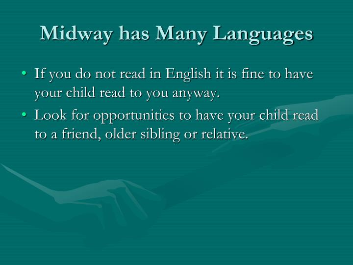 Midway has Many Languages