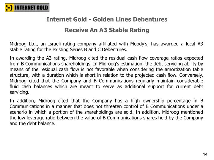 Internet Gold