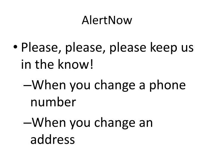 AlertNow