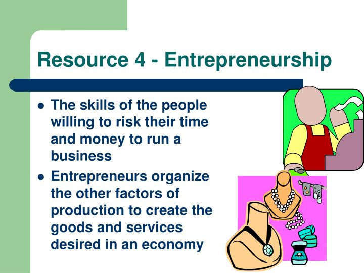 Resource 4 - Entrepreneurship