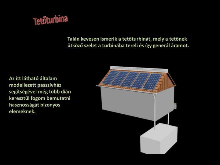 Tetőturbina