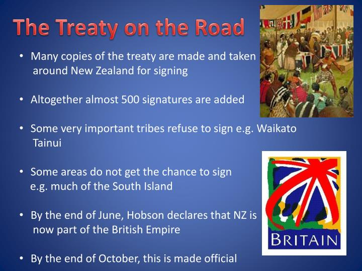 The Treaty on the Road