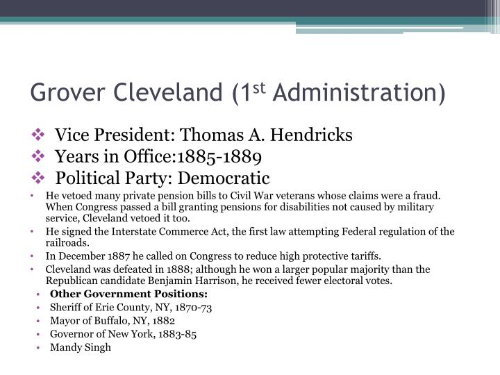 Grover Cleveland (1